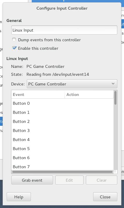 GIMP: Configure Input Controller (PC Game Controller)